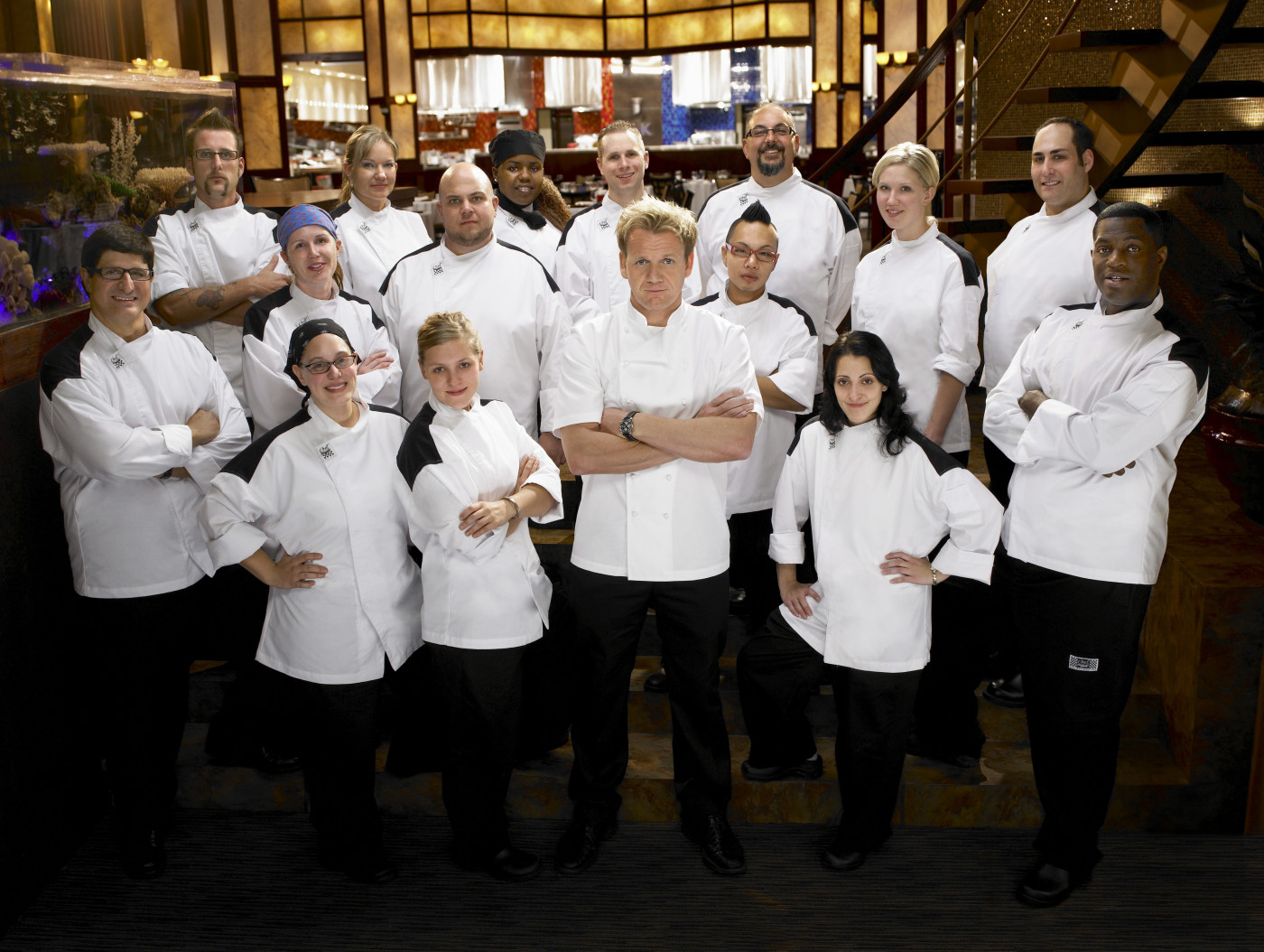 Hell's Kitchen, Season 4 Contestants (Fox Broadcasting Network)