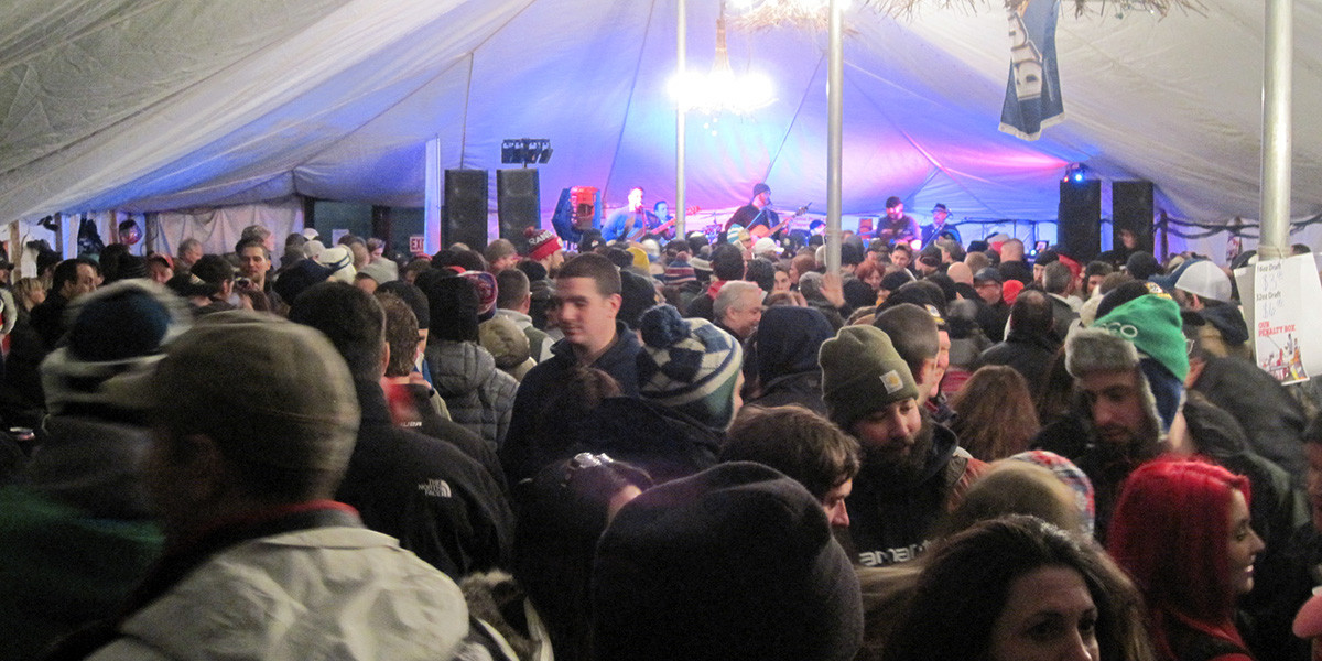 Adirondack Ice Bowl Party Tent