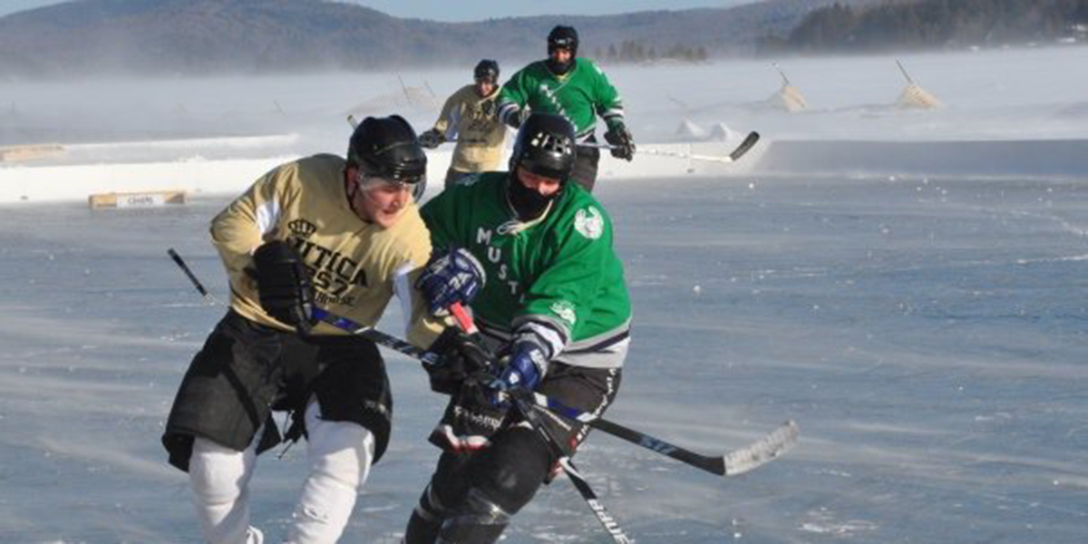 Adirondack Ice Bowl in Inlet, New York