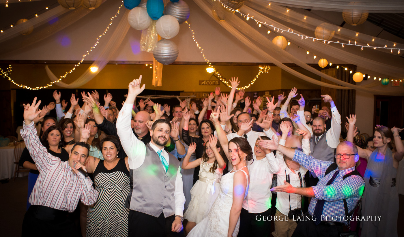 Wedding reception at Oak Mountain (Photo courtesy of George Lang Photography)