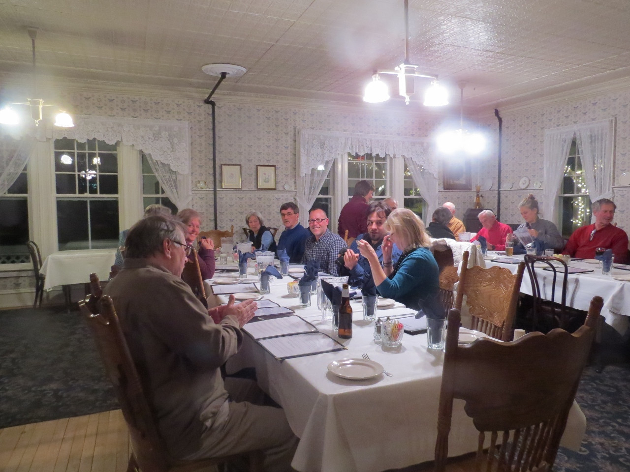 Birders fill the Adirondack Hotel Dining Room!