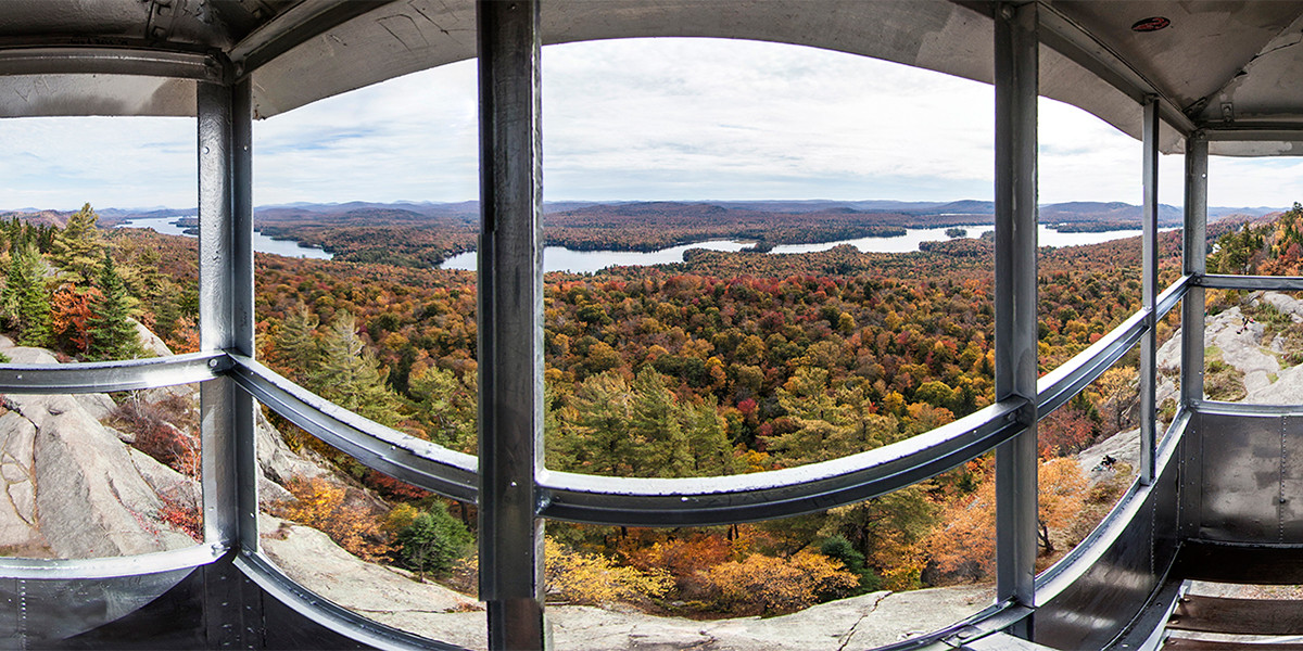 Fire Tower on a Mountain Top