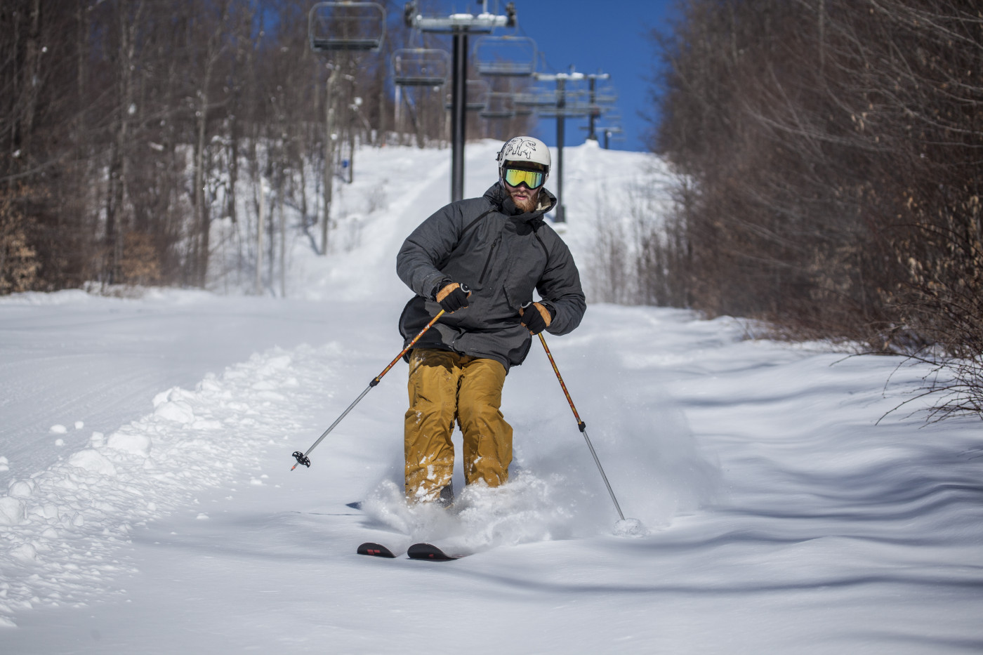 Skier at Oak Mountain